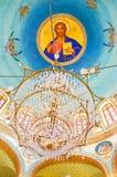 Kupolen av den Mars Jirjis kyrkan Fotografering för Bildbyråer