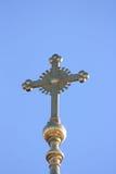 Kupolen av kyrkan Arkivfoto