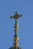Kupolen av kyrkan Arkivfoton