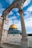 Kupolen av vagga, Jerusalem, Israel Royaltyfri Bild