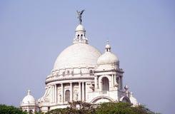 Kupolen av Victoria Memorial, Kolkata arkivfoton