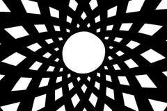 Kupolen, geometriska former royaltyfri illustrationer