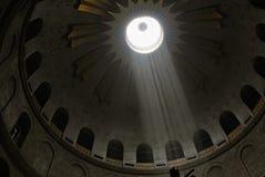 kupolen rays sunen Arkivbild