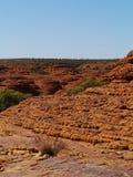 Kupoler av den australiska konungkanjonen Royaltyfri Fotografi