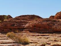 Kupoler av den australiska konungkanjonen Arkivfoto