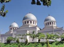 Kupoler September 2007 för Tasjkent Juma moské tre Royaltyfria Foton