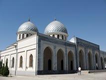 Kupoler September 2007 för Tasjkent Juma moské två Royaltyfria Bilder