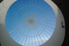 kupolexponeringsglastak Royaltyfri Bild