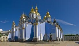 kupolformig guld- michael s för domkyrka st Royaltyfria Foton