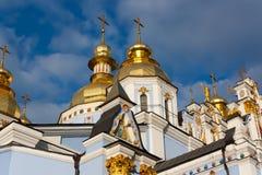 kupolformig guld- st för michael kloster s Royaltyfri Foto