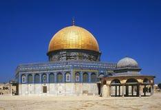 kupolisrael jerusalem rock Royaltyfria Bilder