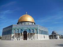 kupolisrael jerusalem rock Royaltyfri Foto