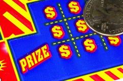 kupon lotto Zdjęcie Stock