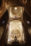 Kuppel in der Kirche Stockfoto