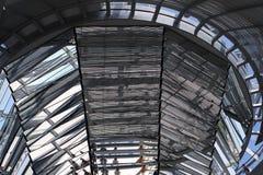 Kuppel des deutschen Reichstag Stockbild