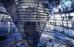 Kuppel von Reichstag, Berlin Lizenzfreies Stockbild