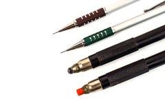 Kupplung-artige Bleistifte lokalisiert auf weißem Hintergrund Stockbild