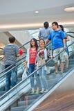 Kupujący przy Livat zakupy centrum handlowym, Pekin, Chiny Obrazy Royalty Free
