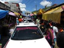 kupujących taxi Zdjęcie Royalty Free
