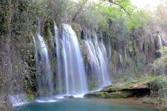 KurÅŸunlu瀑布在安塔利亚 免版税库存照片