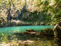 Kurşunlu Şelalesi (Kursunlu Waterfall) - Antalya - Turkey Stock Photos