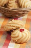 Kurabie biscuits (cakes) Stock Photography