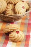 Kurabie biscuits (cakes) Royalty Free Stock Photography