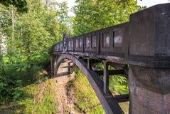 Kuradisild eller Devil's bro i Tartu, Estland arkivfoto
