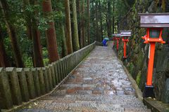Kurama, Japonia obraz stock