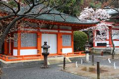 Kurama, Kyoto royalty-vrije stock afbeeldingen