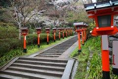 Kurama Temple, Kyoto stock photo