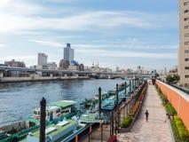 Kuramae, lieu de la détente près d'Asakusa images libres de droits