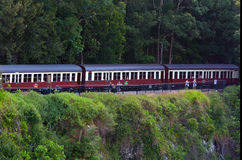 Kuranda Scenic Railway in Queenland Australia Stock Image