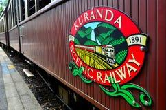 Kuranda Scenic Railway in Queenland Australia Stock Images