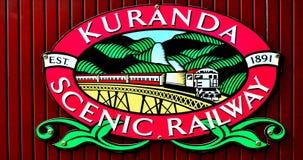 Kuranda Scenic Railway in Queenland Australia Stock Photo
