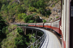 Kuranda Scenic Train in Australia. Kuranda Scenic Train in Queensland, Australia stock images