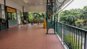 Kuranda Skyrail Office. In North Queensland Australia wihich has a cableway over the tropical rainforest royalty free stock photos
