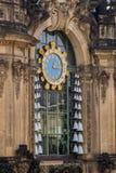 Kuranty Zwinger Drezdeński zdjęcie royalty free