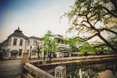 Kurashiki city Royalty Free Stock Images
