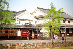 Kurashiki city Royalty Free Stock Photos
