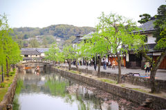Kurashiki city Royalty Free Stock Image