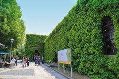 Kurashiki, Japón 11 de mayo de 2017: Kurashiki Ivy Square Fotos de archivo libres de regalías