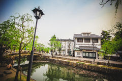 Kurashiki river Royalty Free Stock Images