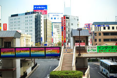 Kurashiki stad Royaltyfri Bild