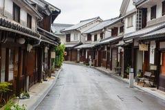 Kurashiki-Stadt, alte japanische Stadt in Okayama lizenzfreie stockfotos