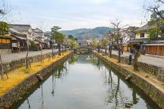 Kurashiki Village in Okayama city, Japan Stock Images