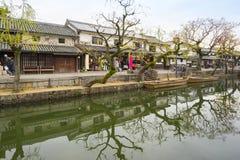 Kurashiki Village in Okayama city, Japan Royalty Free Stock Photos