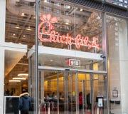 kurczątko sklepowa pierzeja Nowy Jork obraz stock