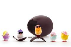 kurczątka czyścić Easter Zdjęcie Stock