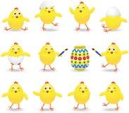 kurczątka Easter ilustracja wektor